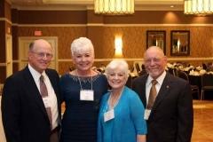 Carl and Linda Conger, Linda and Hank Beebe